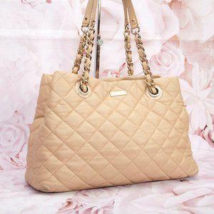 Kate Spade Designer Shoulder Quilted Tote Handbag